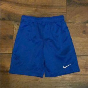 Nike Royal blue mesh short